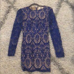 The Jetset Diaries Sunset Bodycon Dress